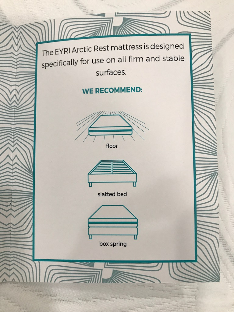 Eyri Iceland Arctic Rest Mattress Review