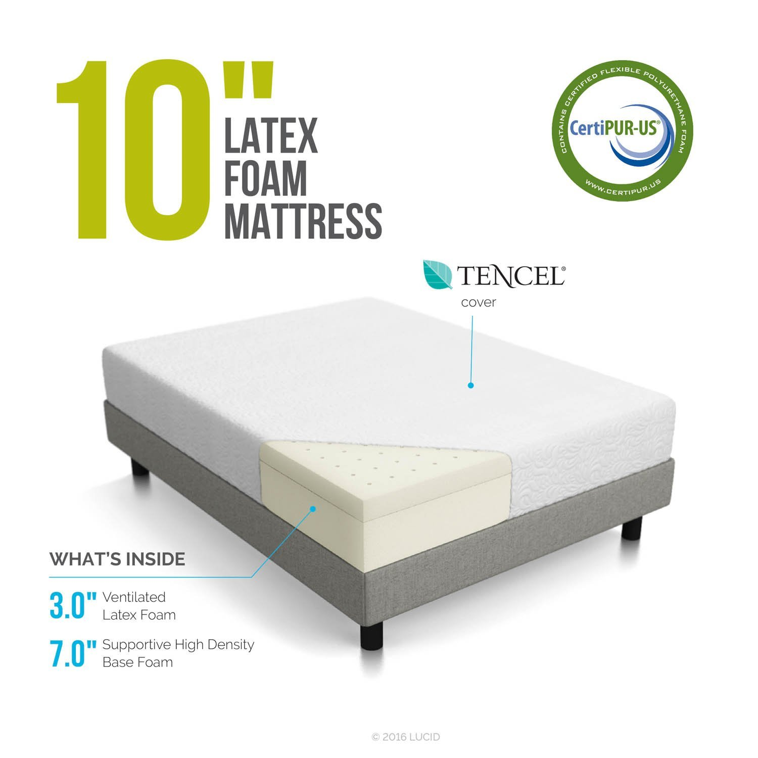 Lucid 10 Inch Mattress Review