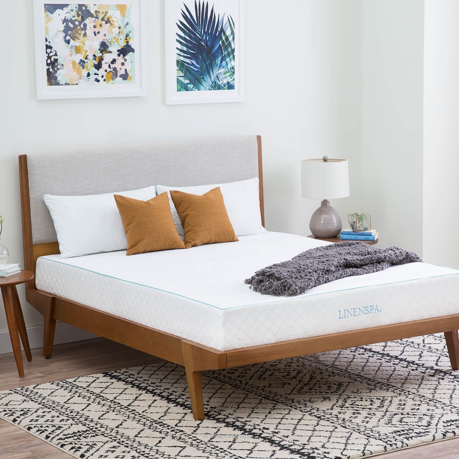 Linenspa's 10-inch Gel Memory Foam Mattress