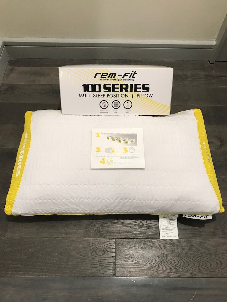REM-FIT 100 Series Shredded Memory Foam Pillow Review