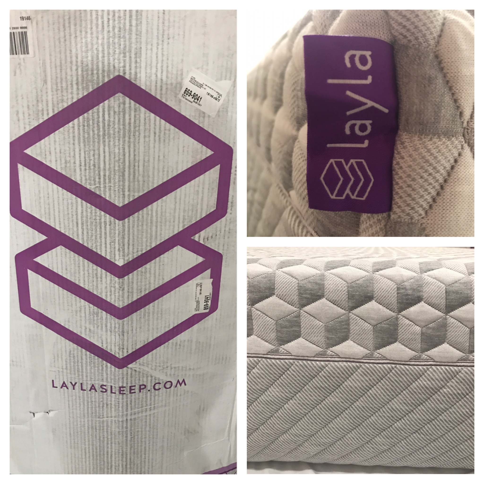 Layla Mattress Review Box Memory Foam Flippable Firmness