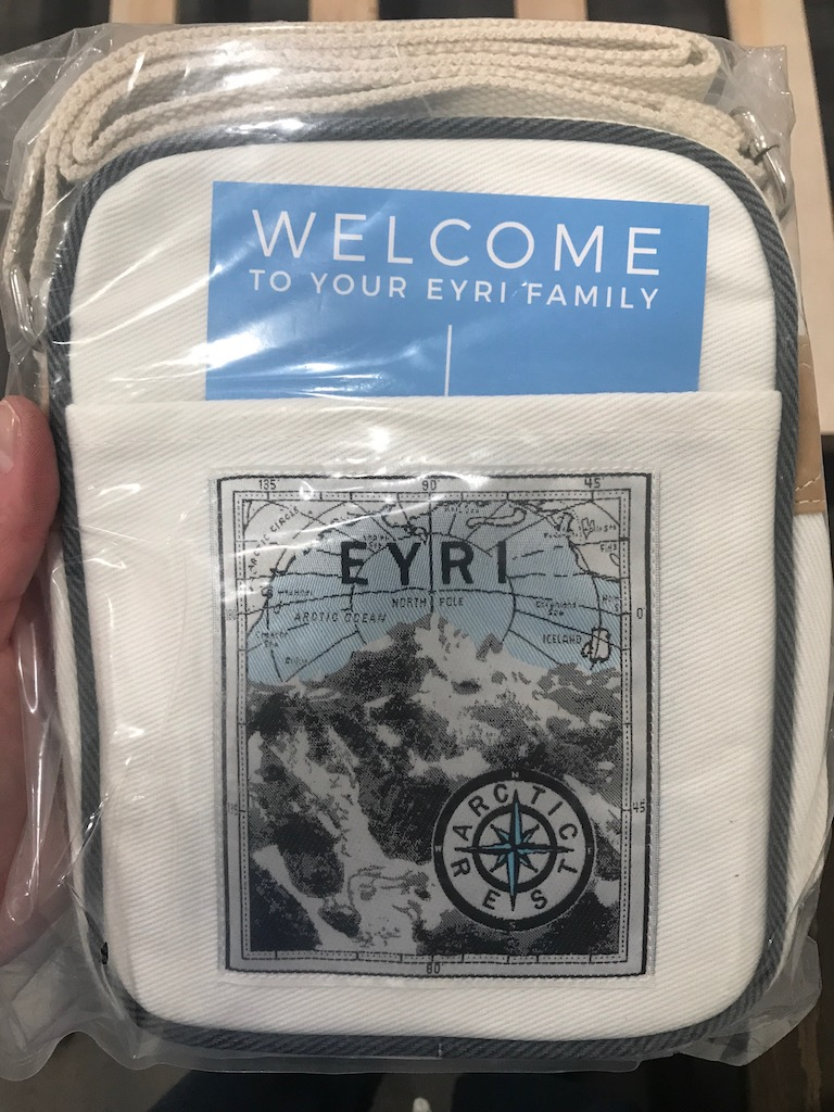 Eyri Iceland Free Travel Bag That Came with The Mattress