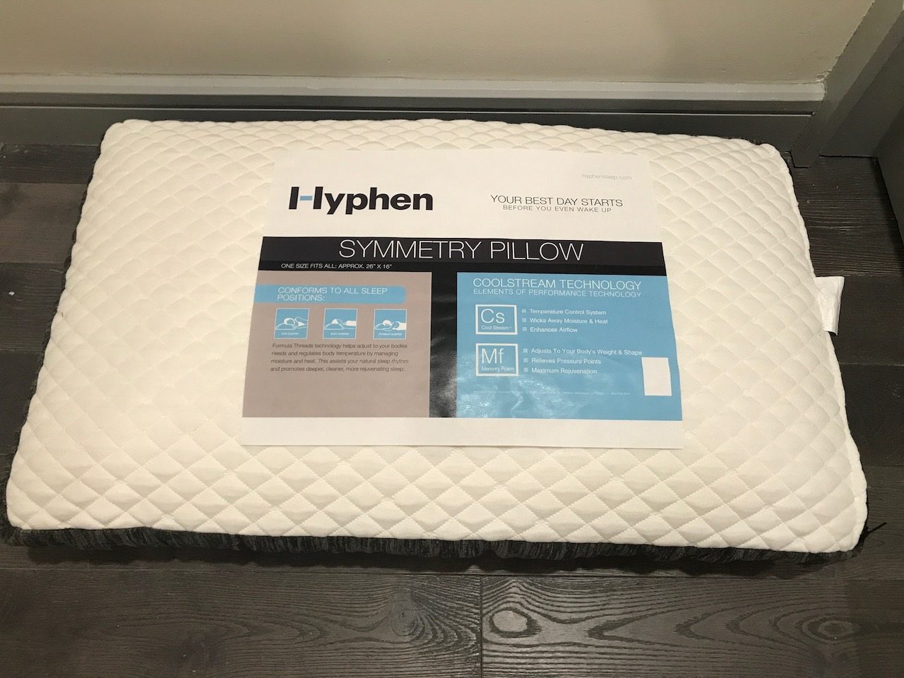 Hyphen Symmetry Pillow Review