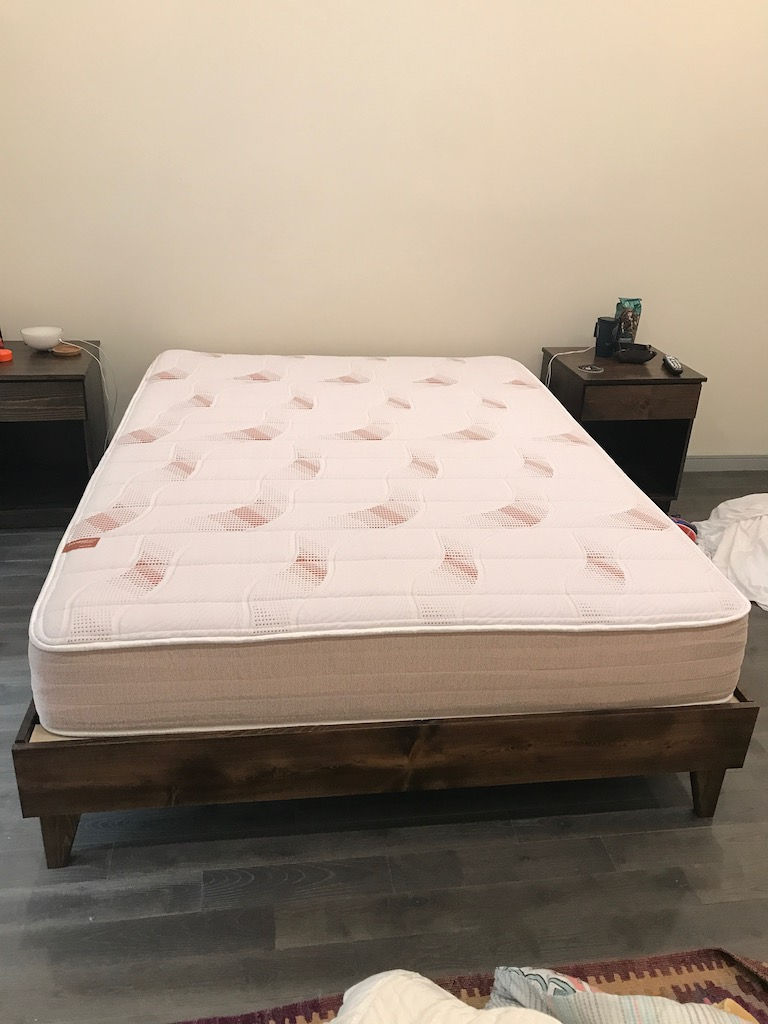 Pangea Mattress Review Week One Testing Completed