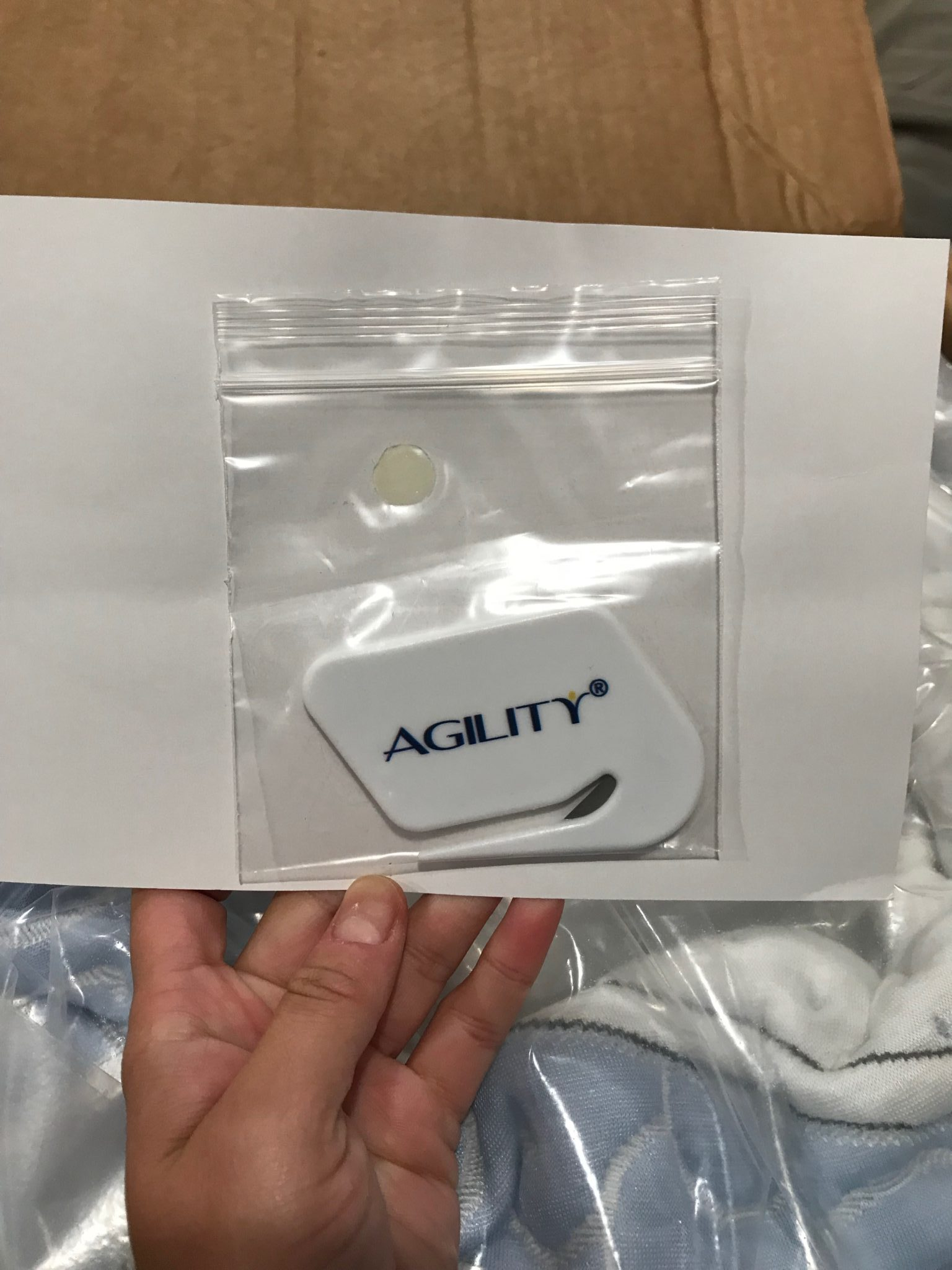 Agility Mattress Review it even comes with a cutting tool to remove the plastic wrapping of the new mattress