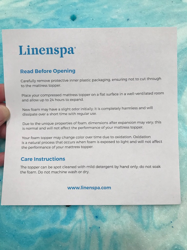 Linenspa 2 Inch Gel Swirl Mattress Topper Review