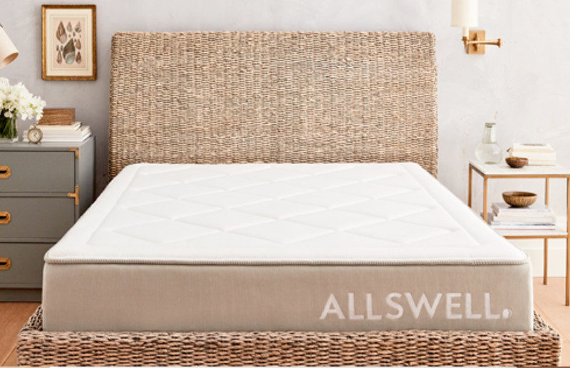Product image prior to the Allswell Mattress Reviews