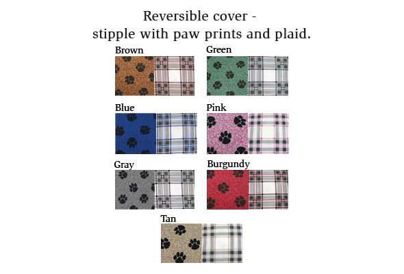 My Pillow dog bed color options there are 7 color options as of our 2020 update