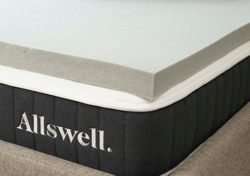 Allswell 3 inch memory foam mattress topper