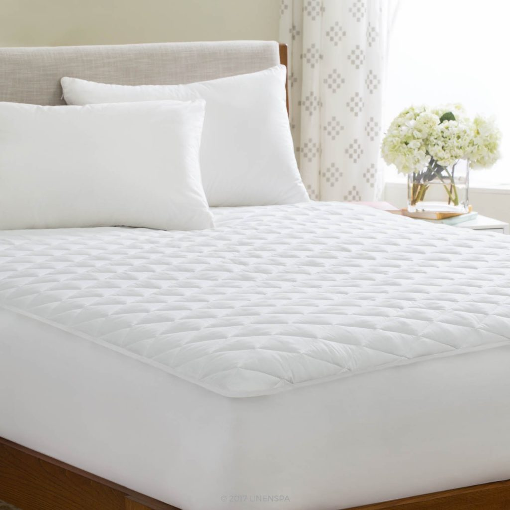 Linenspa Waterproof Mattress Pad available at WalMart
