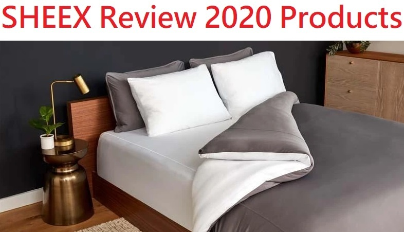 SHEEXS Review sheets, duvet cover, comforter, blankets