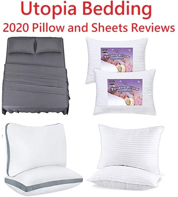 Utopia Bedding Sheets and Pillows